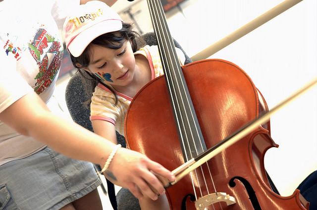 Начинающий виолончелист