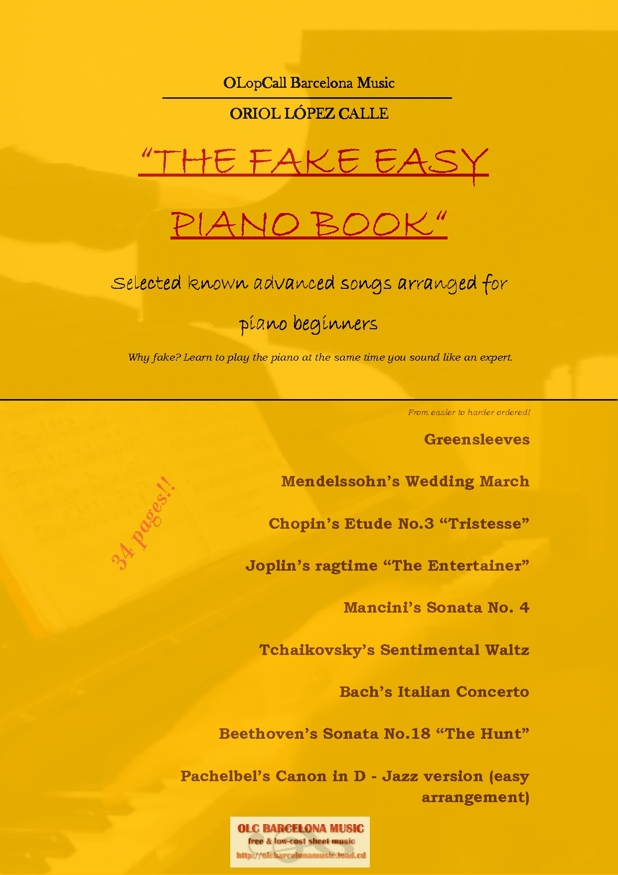 how to play piano from a fake book