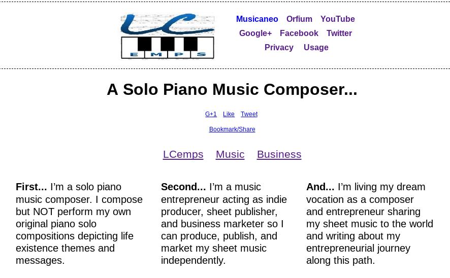 LCemps:Solo Piano Music Composer